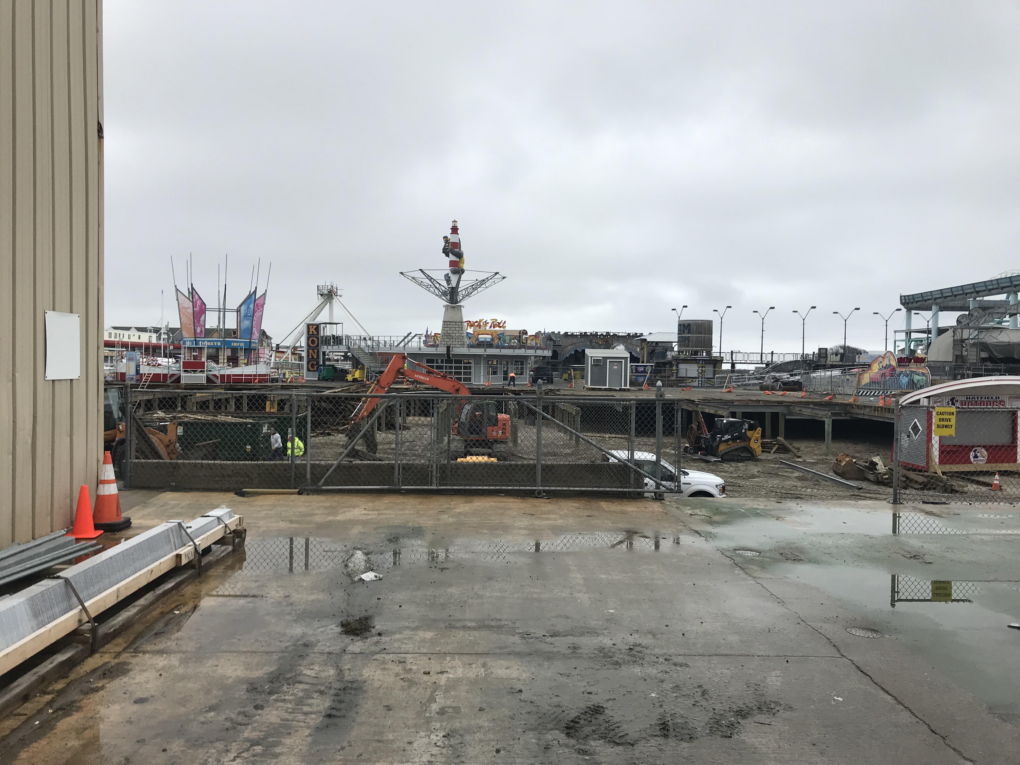 Morey's Tour Winter 2019 Construction