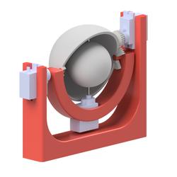 Model for 3D Printed Eye