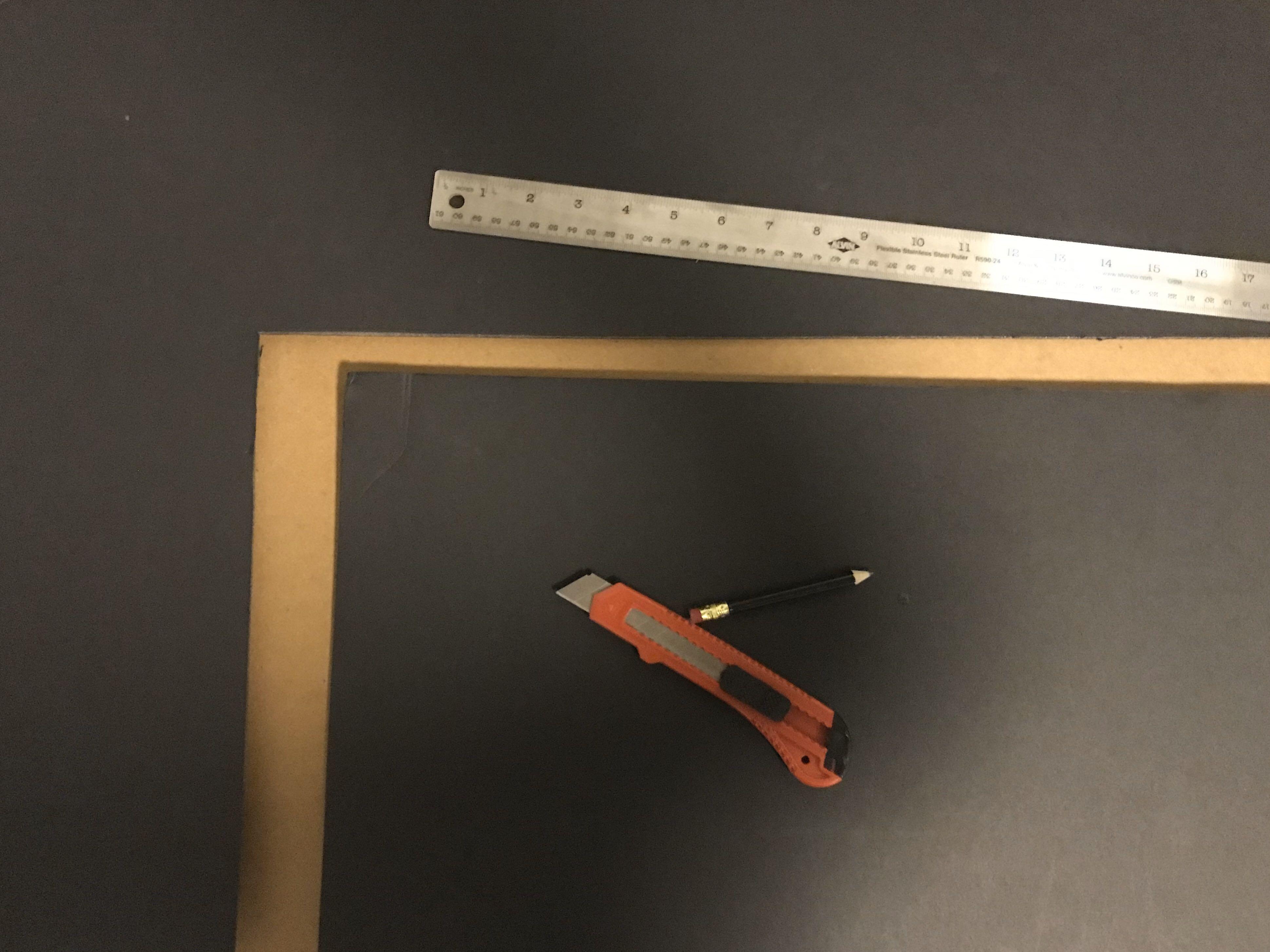 Cutting Foam Board
