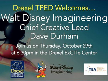 Drexel TPED Video Chats with Walt Disney Imagineering