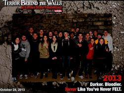 Terror Behind the Walls 2013