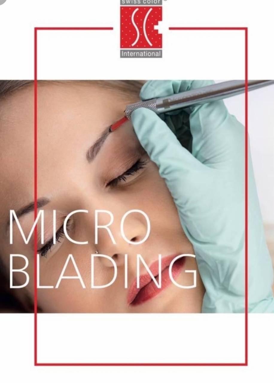 Microblading inkl. Nachbehandlung