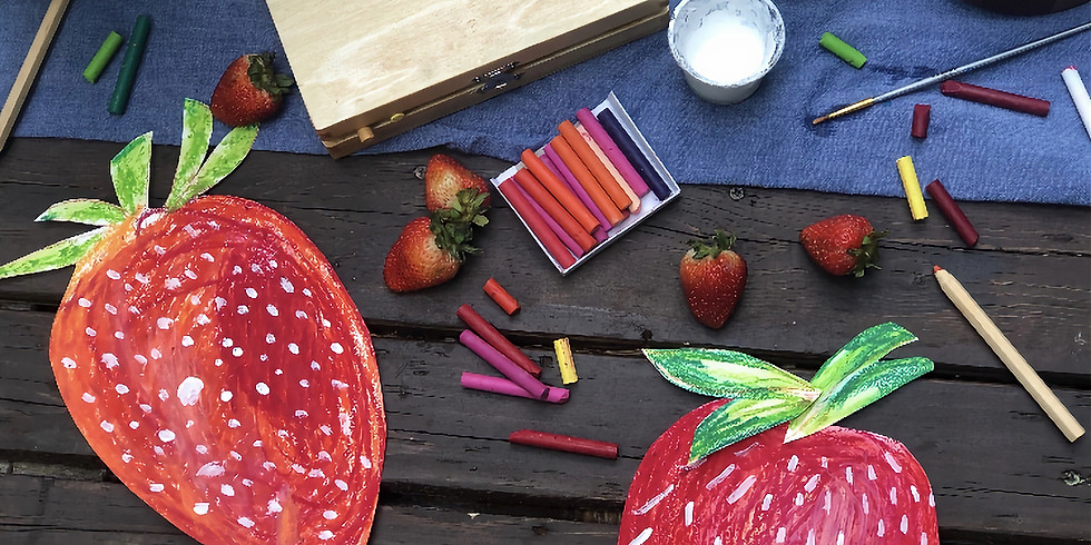 """Story & Art- """"Berry Fun"""" for Little Wanderers (Ages 3-6)"""