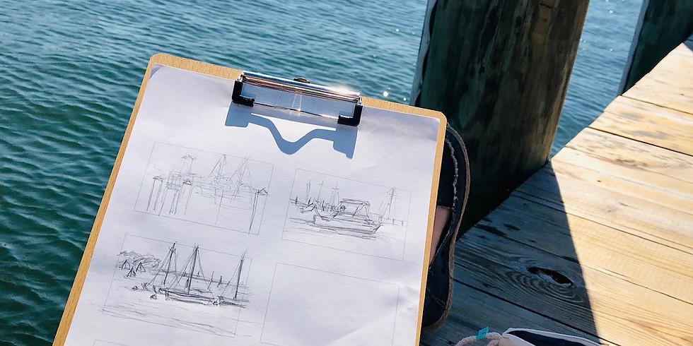 Adult Pop-Up: Saturday Morning Sketch-City Dock