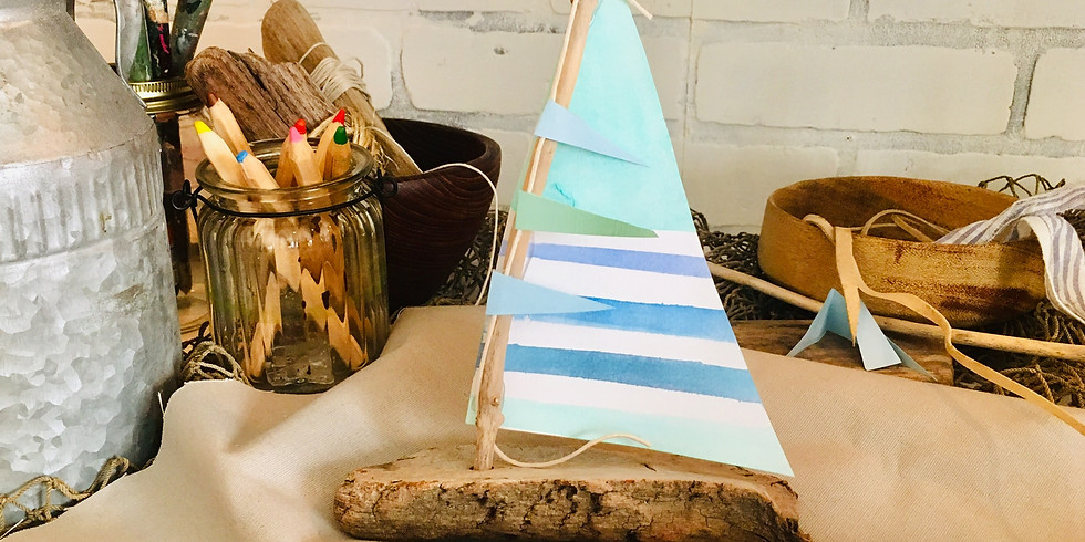 Explore the Shore- Make & Take Pop Up Art Class for all Ages