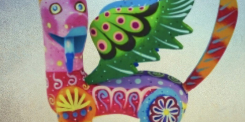 Art Explorers- Mythical Creature Sculpture Inspired by Mexican Alebrijes