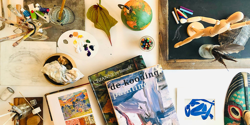 Wander Wednesdays Art Explorers: Children's Pop- Up Art Class for Emergent Wanderers (ages 6 and up) (1)