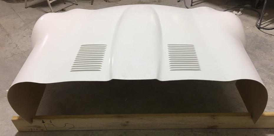 GTJ E-Type Jaguar Fiberglass Hood