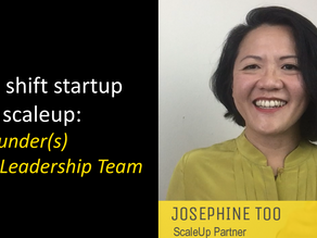 1st Key Shift: Founder(s) to Leadership Team