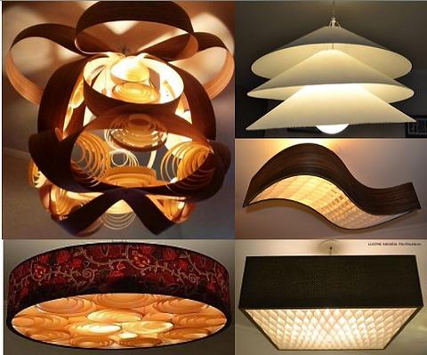 lustres-luminárias-pendentes de madeira. Lustrs-Luminárias-sala-jantar-estar.