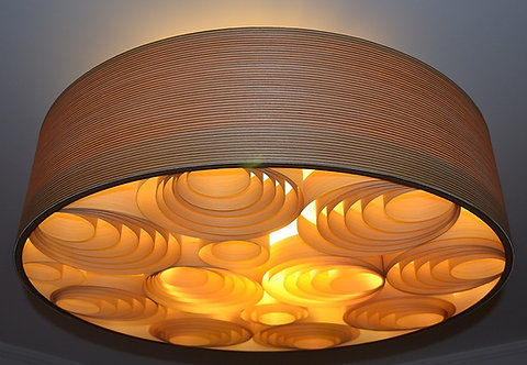 Oferta-Lustres-Luminárias-Sala-Sophia 60cm x 20cm-Madeira