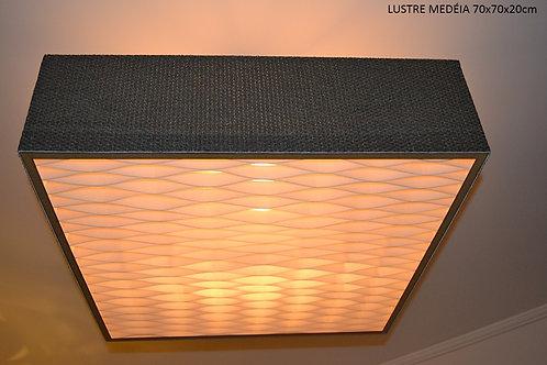 Lustres-Luminárias-Pendentes MEDÉIA 70Cm x  70cm