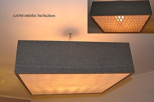 Lustres-Luminárias-Pendentes MEDÉIA 50Cm x  50cm