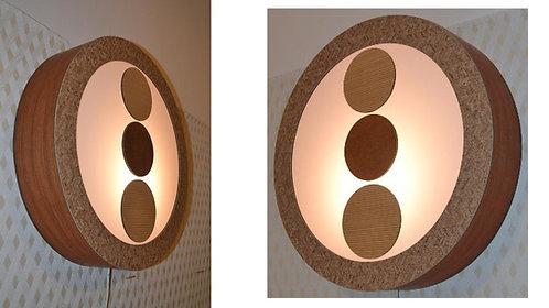 Painel Decorativo-Luminária parede  48cm x 10cm