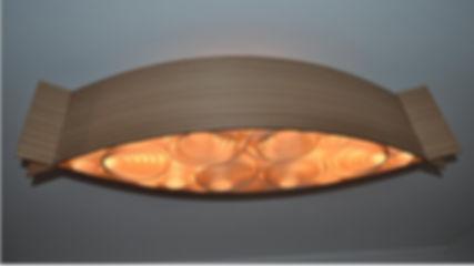 luminária-lustre-pendente de madeira-sala-oferta.