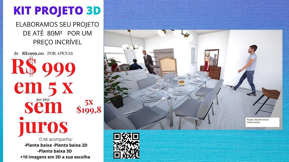 PROJETOS EM 3D PARA SUA CONSTRUÇÃO-REFOR