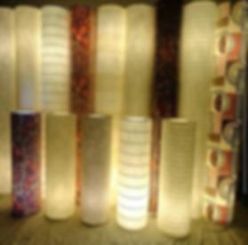 Luminária de piso tubular 1,35m