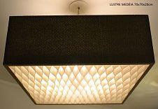 Lustres-Luminárias-Pendentes MEDÉIA 60Cm x  60cm