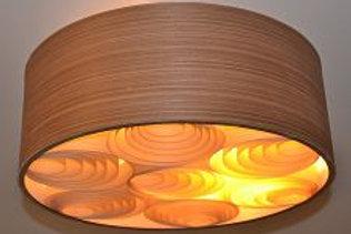 Lustres-Luminárias-Pendentes Sophia 45cm x 20cm Madeira