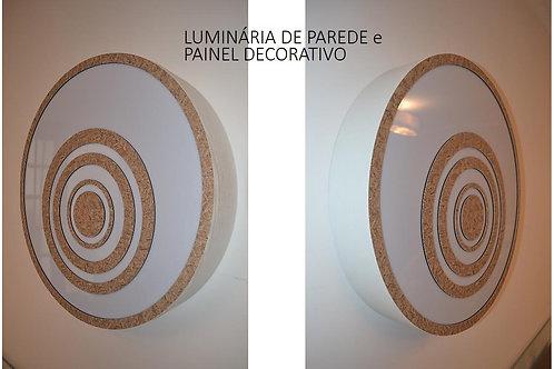 ARANDELA-Luminária-PROMOÇÃO-OFERTA de parede e painel decorativo  58cm x 10cm