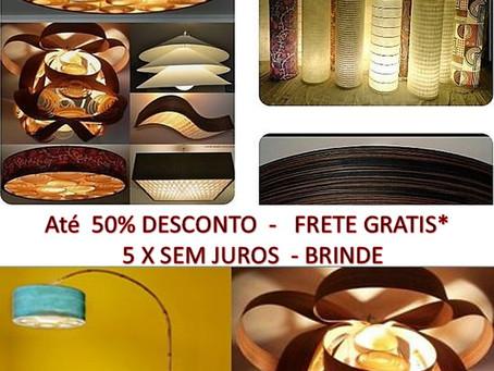Promoção-Oferta-Lustres-Luminárias-Pendentes-Sala-Estar-Jantar-Madeira-Teto