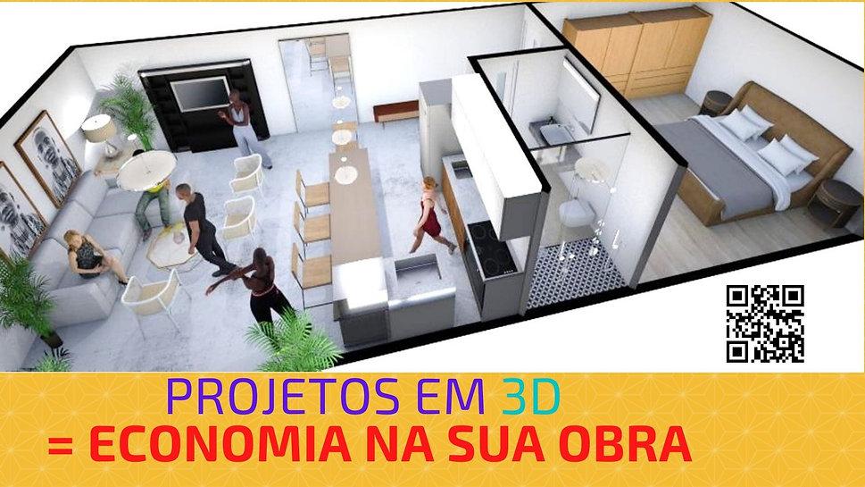 Projetos 3D - imagens realísticas - prom
