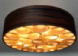 Lustres-pendentes-luminária-teto-madeira