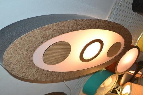 Luminária de parede e painel decorativo  90cm x  45cm x 10cm
