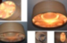 Lustre-Luminária-Pendente de Madeira