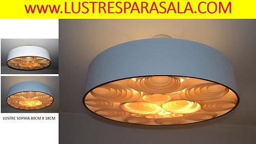 Oferta- 80cm-Lustre Pendente Sala Jantar-Estar-Madeira-Online-Promoção