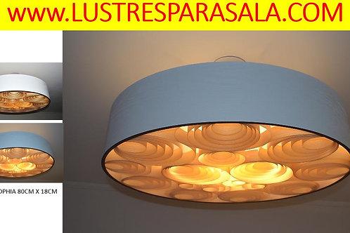 Oferta- 80cm-Lustre-Pendente-Sala-Jantar-Estar-Madeira-Online-Promoção