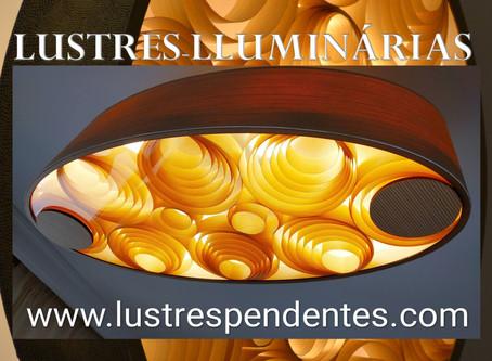 LUSTRES E LUMINÁRIAS PENDENTES