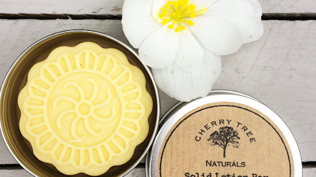 Ylang Ylang,Lemon and Bergamot Solid Lotion Bar