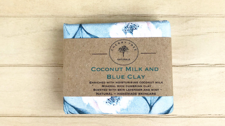 Coconut Milk and Cumbrian Blue Clay Soap