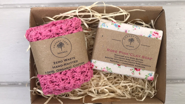 Soap Wash Cloth Duo