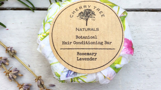 Botanical Hair Conditioning Bar - Rosemary and Lavender