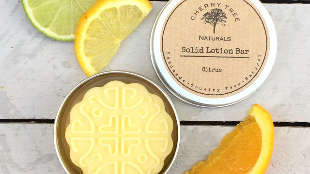 Citrus Solid Lotion Bar