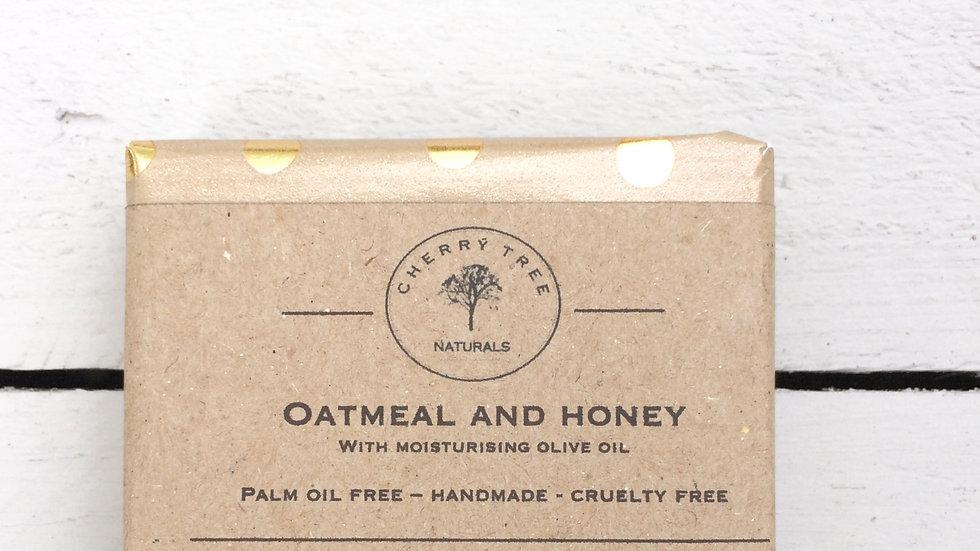 Honey an Oatmeal Soap