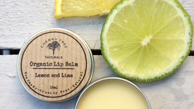 Organic Lemon and Lime Lip Balm