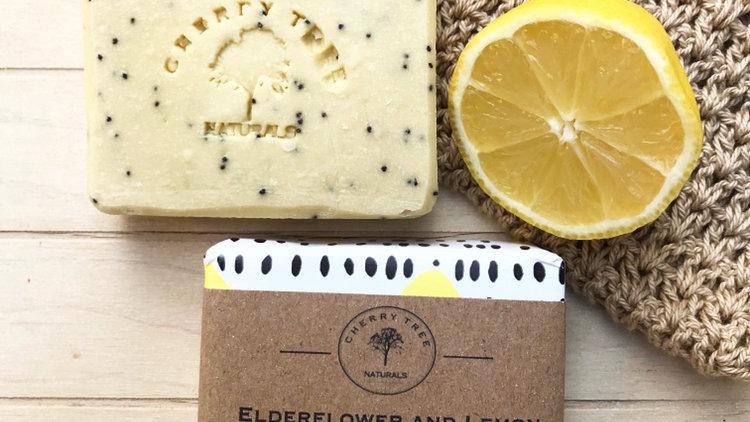 Elderflower and Lemon Soap