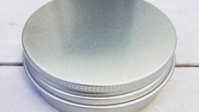 Aluminium Round Tin