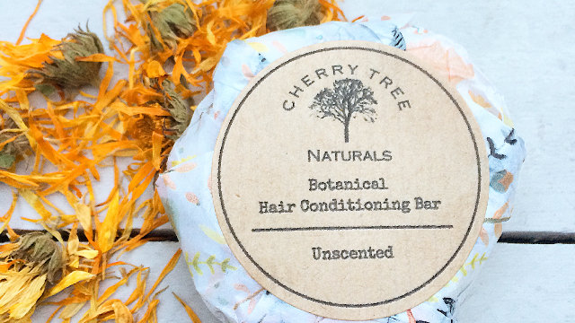 Unscented Botanical Hair Conditioning Bar