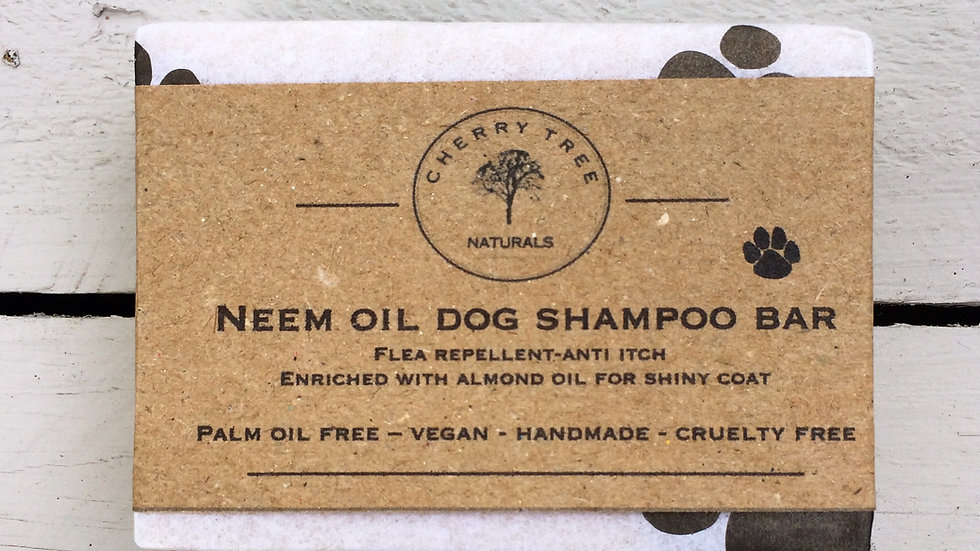 Neem Oil Dog Shampoo Bar