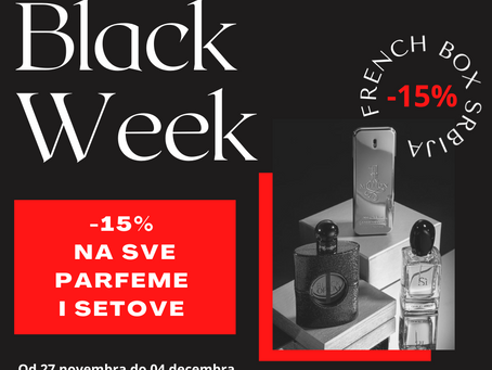 Snizenje parfema - Black Week u French Box-u