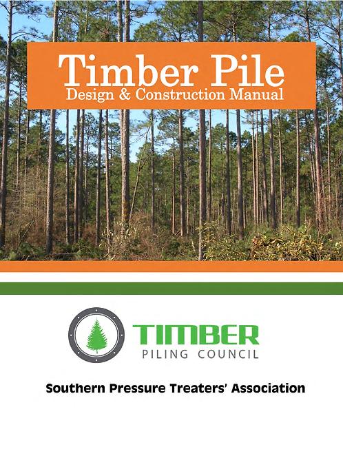 Timber Pile Design & Construction Manual, 2016