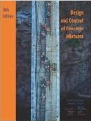 Design and Control of Concrete Mixtures, 16th Edition Paperback � 2016