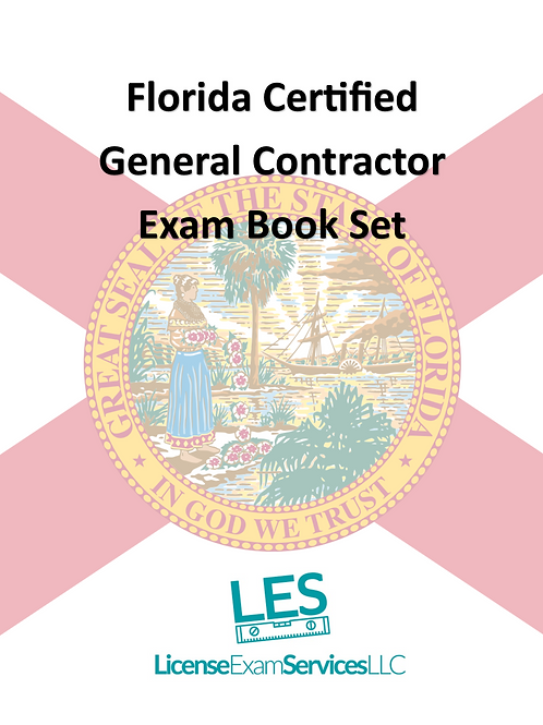 Florida Certified General Contractor License Book Set