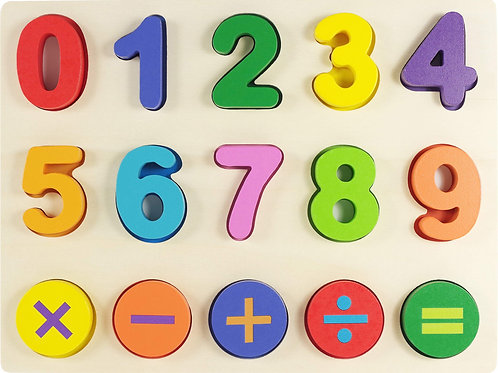 Wood Numbers Puzzle