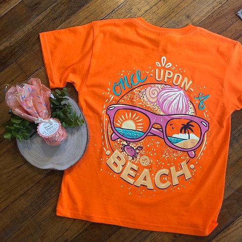 Once Upon a Beach tee