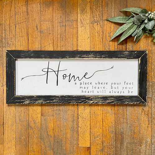 Home...A Place Sign